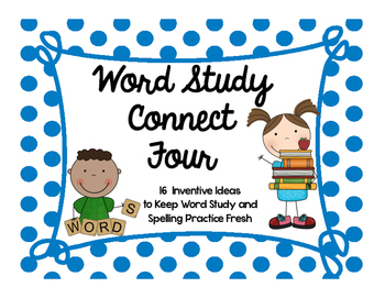 Word Study Connect Four