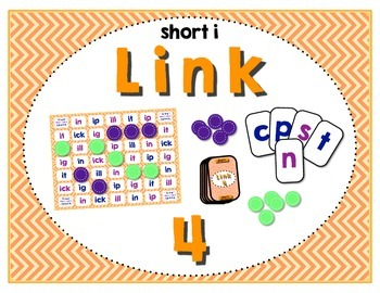 Word Study / Literacy Center - Link 4: Short i Word Famili