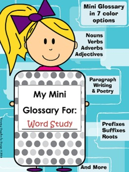 Word Study Unit {Vocabulary work for all word lists}