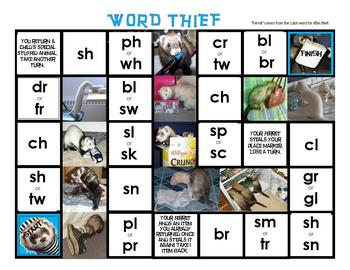 Word Thief - Beginning Consonant Blends