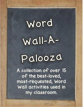 Word Wall-A-Palooza