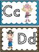 Word Wall Alphabet Headers: Pirate Theme