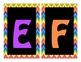 Word Wall Alphabet Headers-Black & Bright Chevron