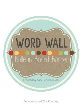 Word Wall Banner (Piper)