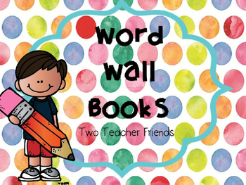 Word Wall Book (Editable)