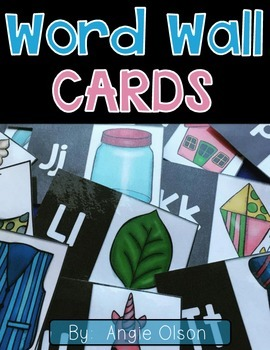 Word Wall Cards