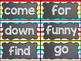 Word Wall Display (Chalkboard and Rainbow Stripe 2)