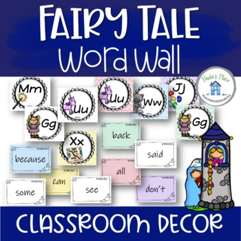 Word Wall - Fairy Tale Theme