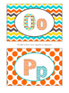Word Wall Header Cards in Candy Colors Theme