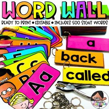 Word Wall Headers {Melonheadz Edition}