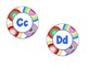 Word Wall Headers - Primary Colors Dots
