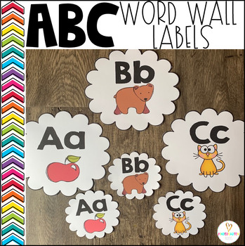Word Wall Labels (ABC's)