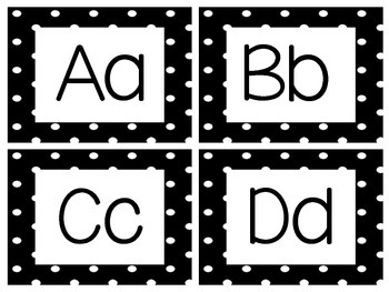 Word Wall Letters Freebie
