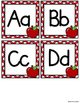 Word Wall Letters Red Apple