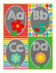 Word Wall Letters and 224 Sight Words (Birds-n-Blooms theme)