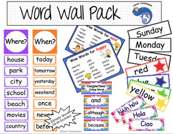 Word Wall - Editable