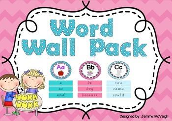 Word Wall ~ Miss Mac Attack ~