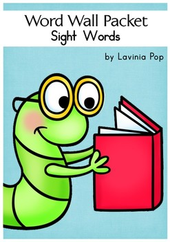 Word Wall - Sight Words {Pre-Primer - Grade 3 Dolch Word Lists}