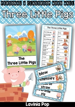 Word Wall - The Three Little Pigs