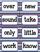 Word Wall Words (Chevron/Nautical Theme) Second 100 Fry Words