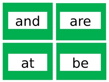 Word Wall Words (Correlated to American Reading Company)