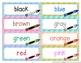 Word Wall Words (Grade 2) Complete Package [Headings & Wor