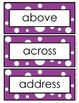Word Wall Word Cards and Alphabet Cards - Grade 4 (4th Grade)