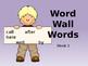 Word Wall Words Week 3