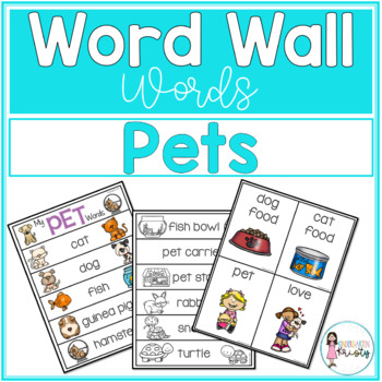 Word Wall Words_Pets