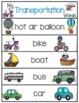 Word Wall Words_Transportation