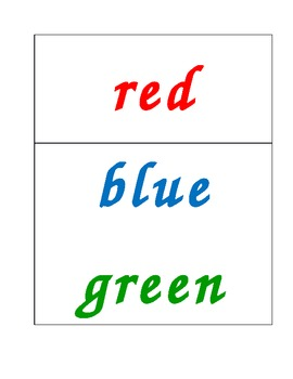 Colour Word Wall add-ons