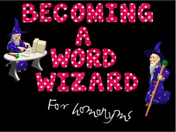 Word Wizard: Homonyms