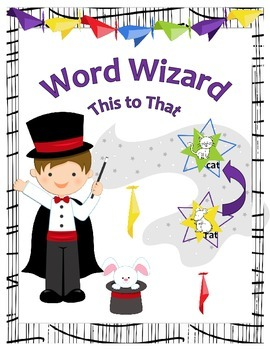 Word Wizard - This To That for CVC Words