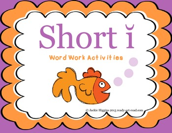 Word Work Activities for Short I
