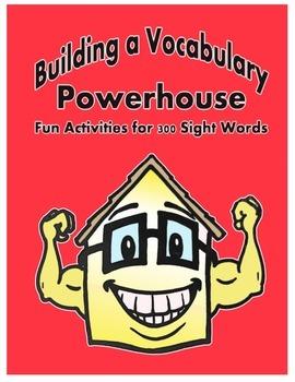 Word Work Activity - Sight Words Week 5-6