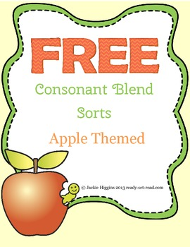 Word Work Activity for Beginning Consonant Blends
