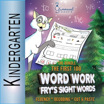 Word Work BUNDLE with Fry's Sight Words