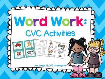 Word Work: CVC Activities
