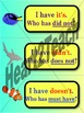 Word Work - Contractions-List Two  *Sea Life Theme with Fl