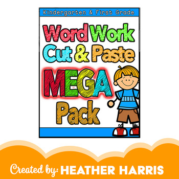 No Prep Literacy Cut and Paste- MEGA PACK