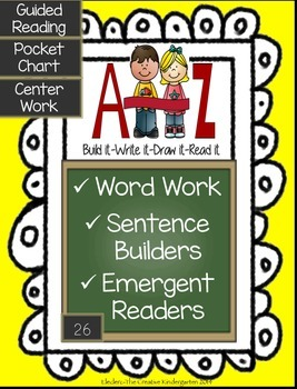 Word Work & Emergent Readers Pack
