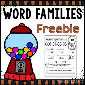 Word Work - Freebie