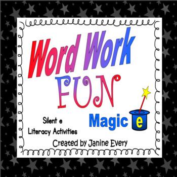 Magic e - Activities for cvce