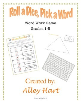 Word Work Game