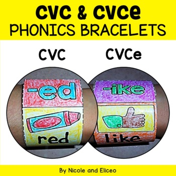 CVC Words Phonics Bracelets