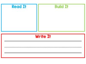 Word Work Mat