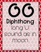 Word Work - OO-OO Diphthong Sorting Center {ABC Order, Anc