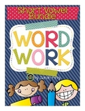 Word Work - Short Vowel Pack