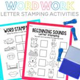 Word Work Stamp It Pack