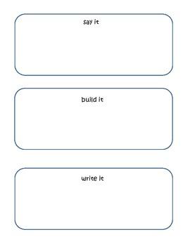 Word Work Station